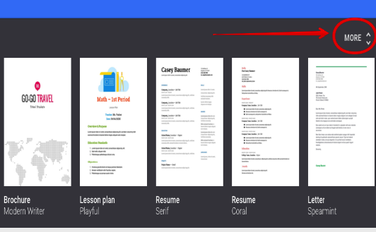 4 Great New Google Docs Templates for Teachers ~ Educational