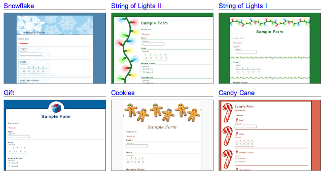 Google Docs 'Holiday themes and templates' | diTii.– All About
