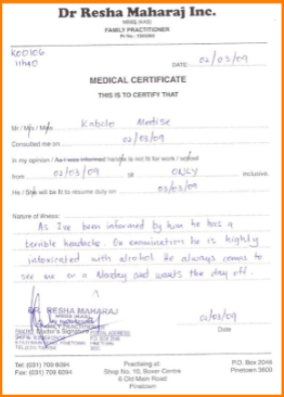 How To Make A Fake Medical Certificate Online Task List