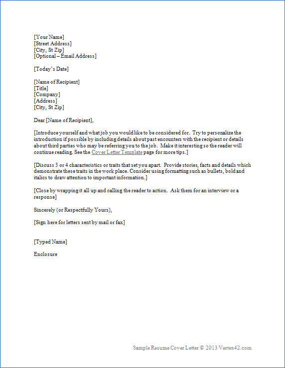 Business Letter Template | aplg planetariums.org