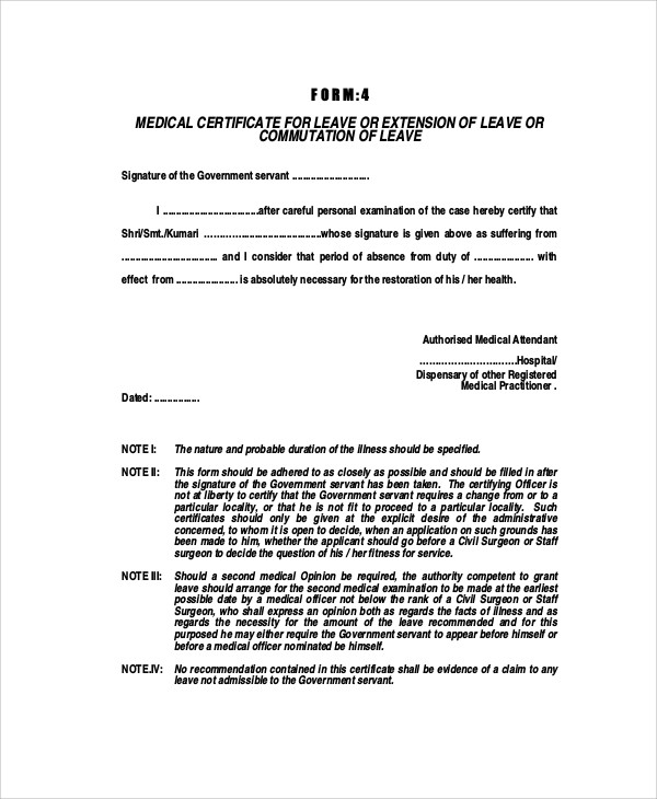 Medical certificate format for sick leave task list for Sick certificate template