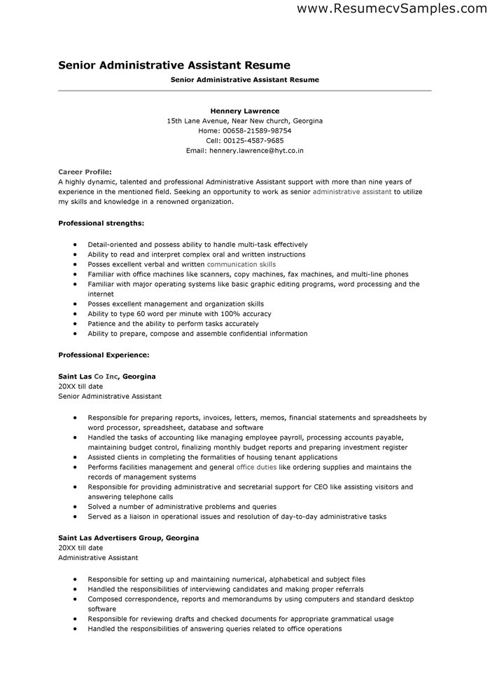 Resumes and Cover Letters Office.com