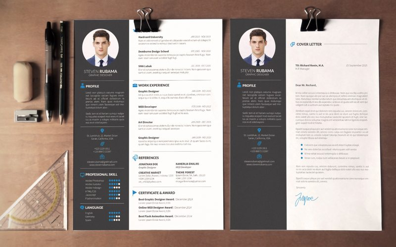 Phenomenal Modern Resume Template 10 The Best CV Templates 50