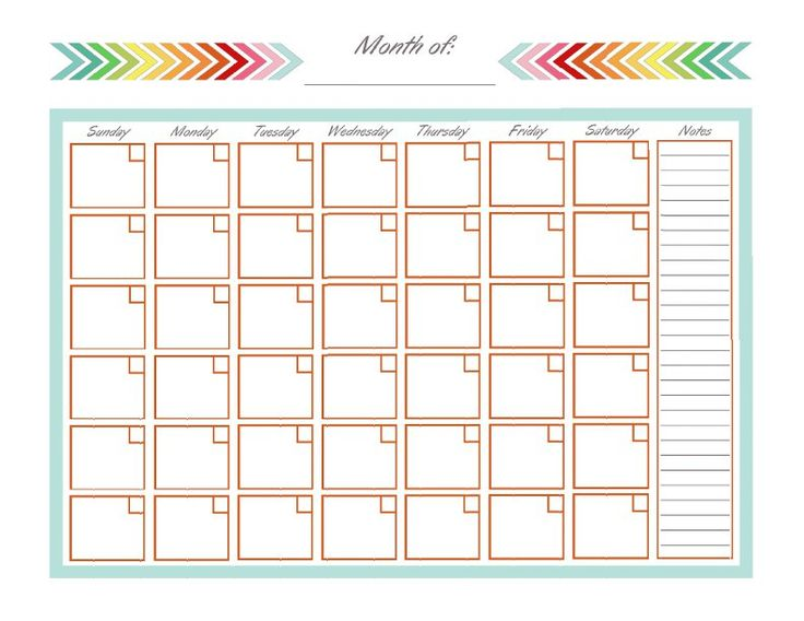 Best 25+ Monthly calendar template ideas on Pinterest | Free