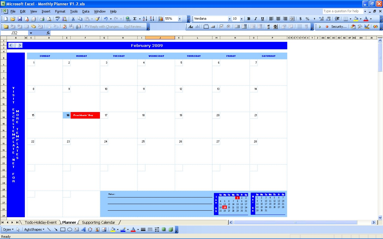 Monthly schedule template excel task list templates for Monthly task list template excel