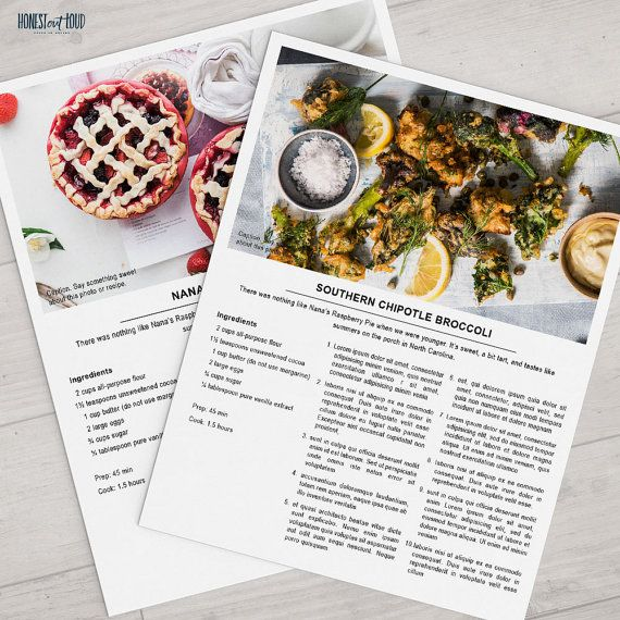 Best 25+ Recipe templates ideas on Pinterest | Clean book