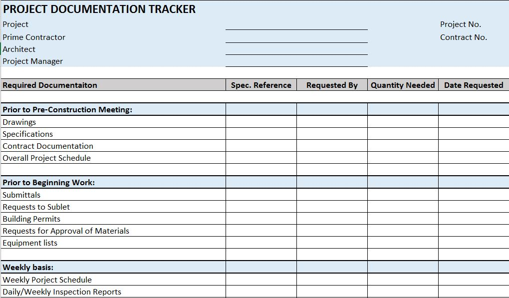 Residential Construction Schedule Template Excel Task List