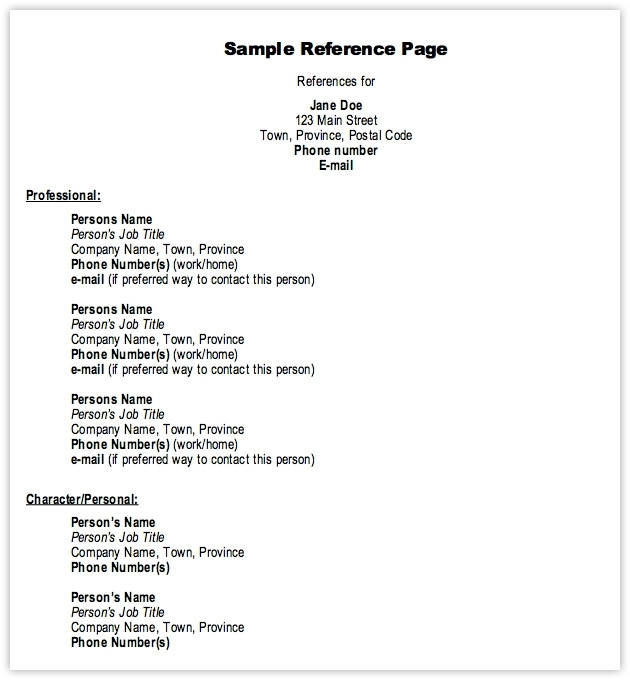 reference templates for resumes reference template for resume resume references template templates download resume with references template