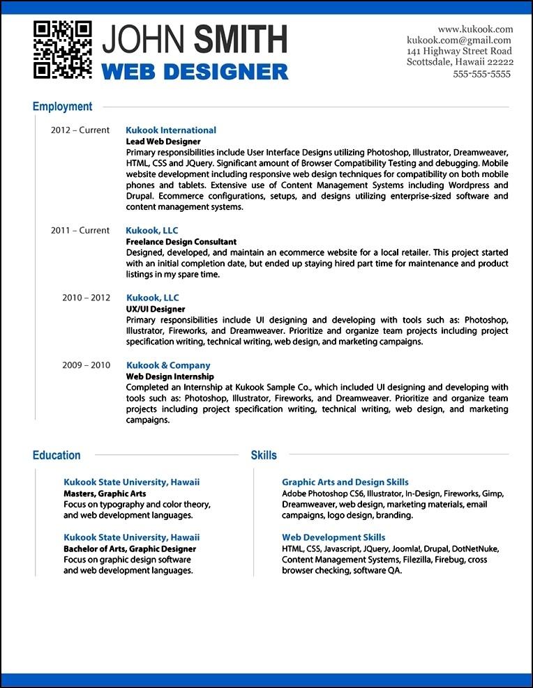 Free Modern Resume Template. Free Modern Resume Template