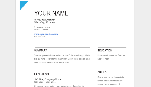 Google Doc Resume Template. Google Resume Builder Best Of Google