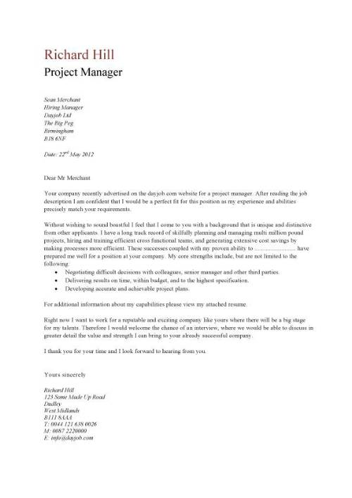 Simple cover letter | misc. | Pinterest | Simple cover letter and