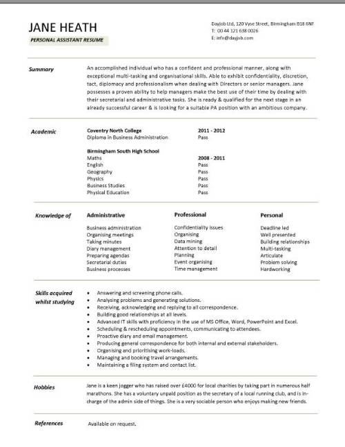 college student resume template. sample of resume student examples