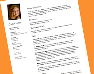 Fashionable Design Ideas Teenage Resume Template 1 Resume For