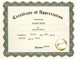 Certificate of appreciation free download hatchurbanskript yelopaper