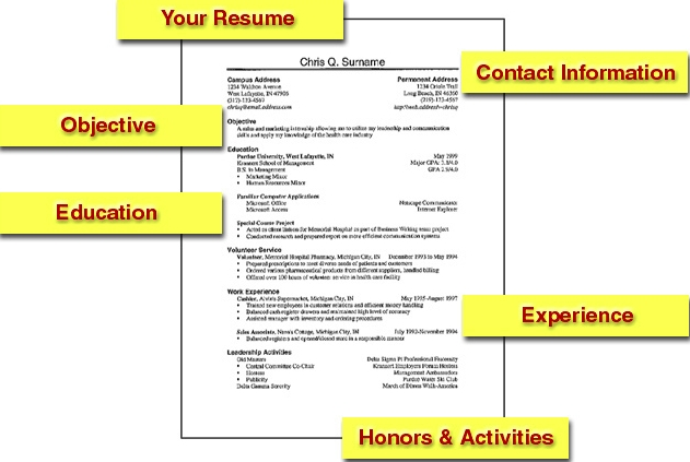 College Student Resume Example Sample http://.jobresume