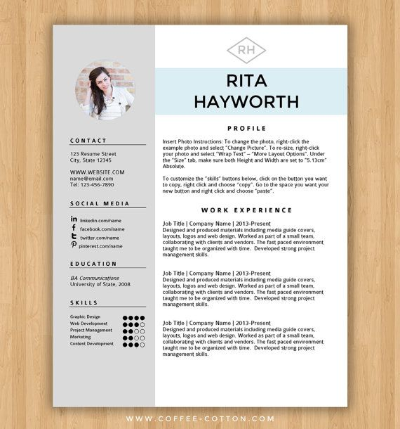 CV Templates | 18 Free Word Downloads + CV Writing Tips CV Plaza