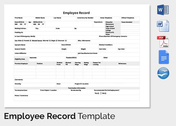 Employee Training Record Template Excel Task List Templates