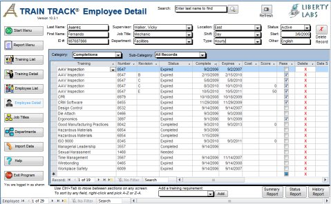 28+ Training Record Template In Excel | Employee Educational