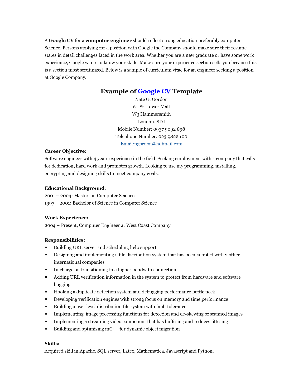 google doc resume template free gray sample resume template free