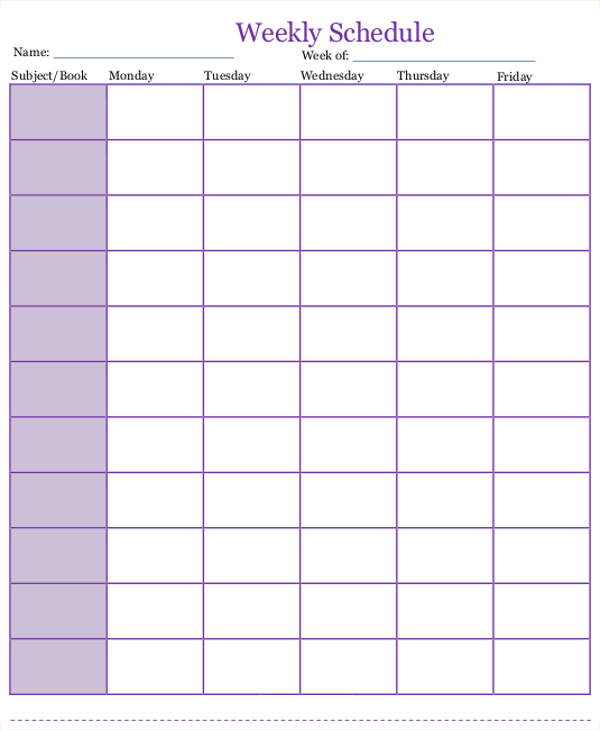 It is a graphic of Tactueux Homeschool Daily Schedule Printable