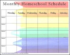homeschool schedule template thebridgesummit.co