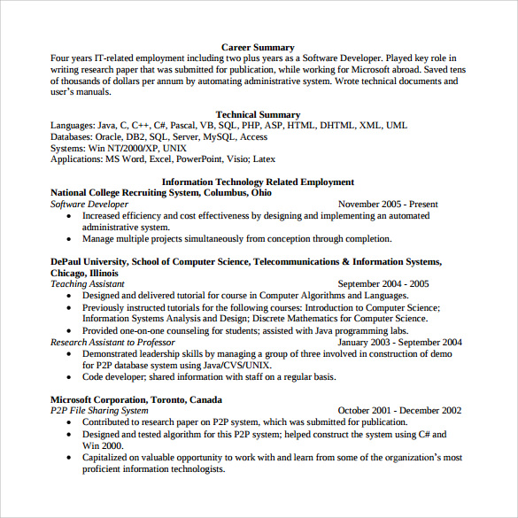 Resume Makeover: Junior Web Developer Resume | Blue Sky Resumes Blog
