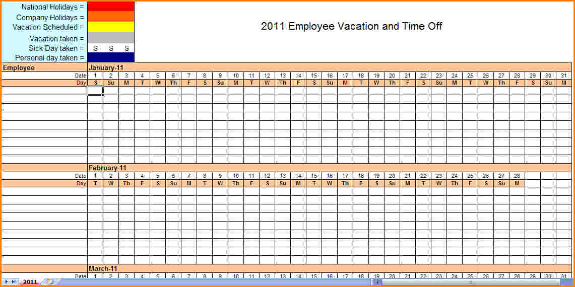 monthly employee schedule template excel task list templates. Black Bedroom Furniture Sets. Home Design Ideas