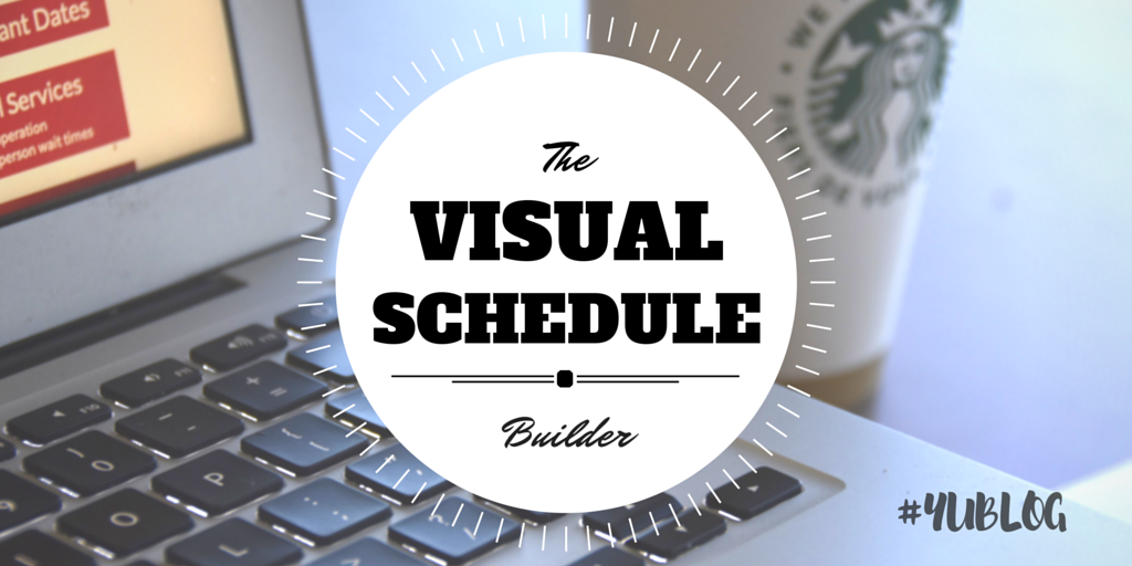 Visual Schedule Builder YouTube
