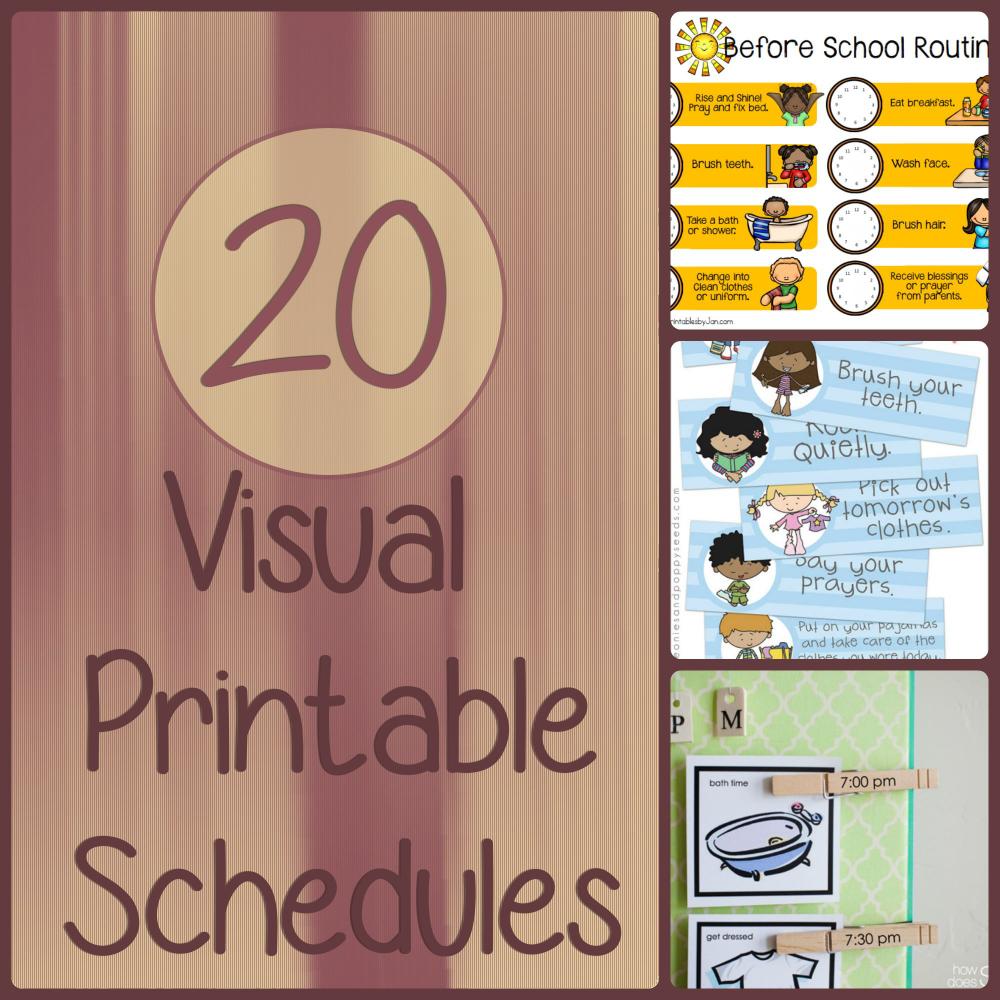 visual schedule maker