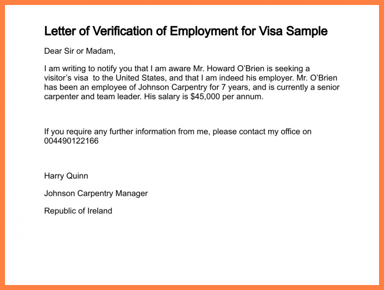 Record Of Employment Letter Template on employee proof, free proof, employer confirming, verification request, status confirmation, income verification, job offer,