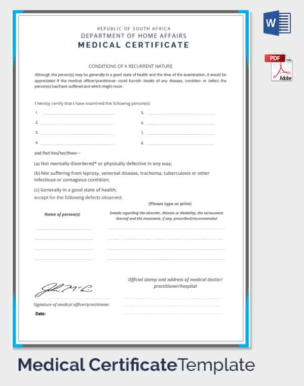certificate medical template fake condition affairs employee department pdf sample mediacl doctors documents note word min templates certificates sky tv