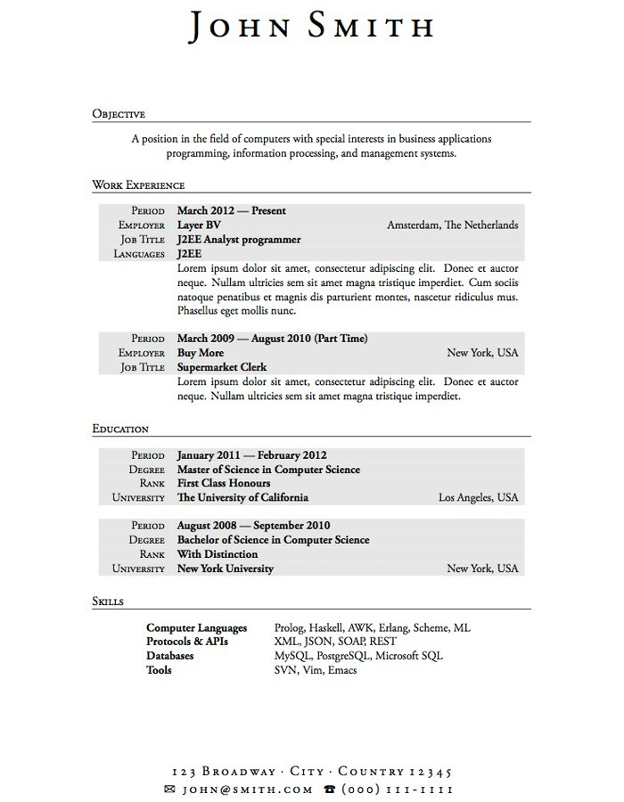 college student resume template microsoft word  u2013 task list
